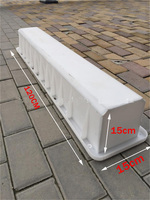 Warning pile mould intersection sign pile cement column indicator police pile concrete mould 15*15*120cm