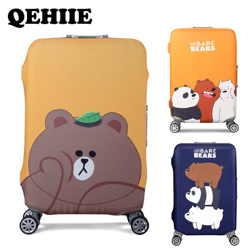 Luggage Cover Travel Elastic Cloth Trolley Case Luggage Dust Cover Travel Accessories Case Cover Case Child Cartoon Travel Cover