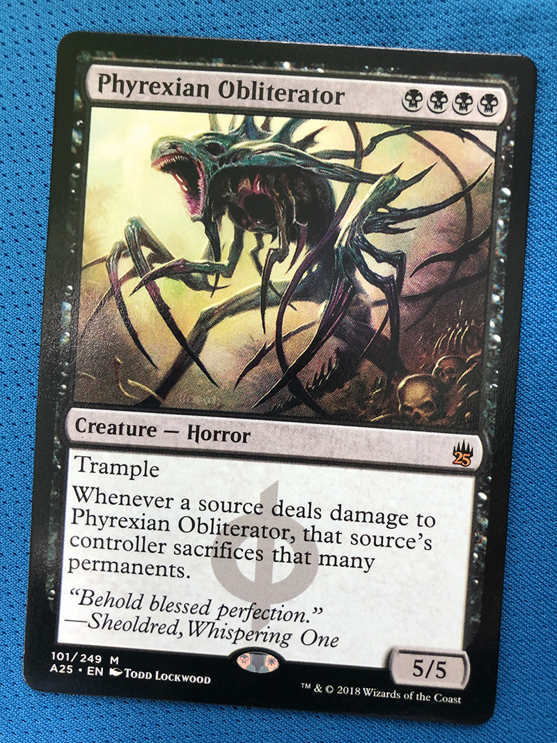 Phyrexian Obliterator A25 Hologram Magician ProxyKing 8.0 VIP The Proxy Cards To Gathering Every Single Mg Card.