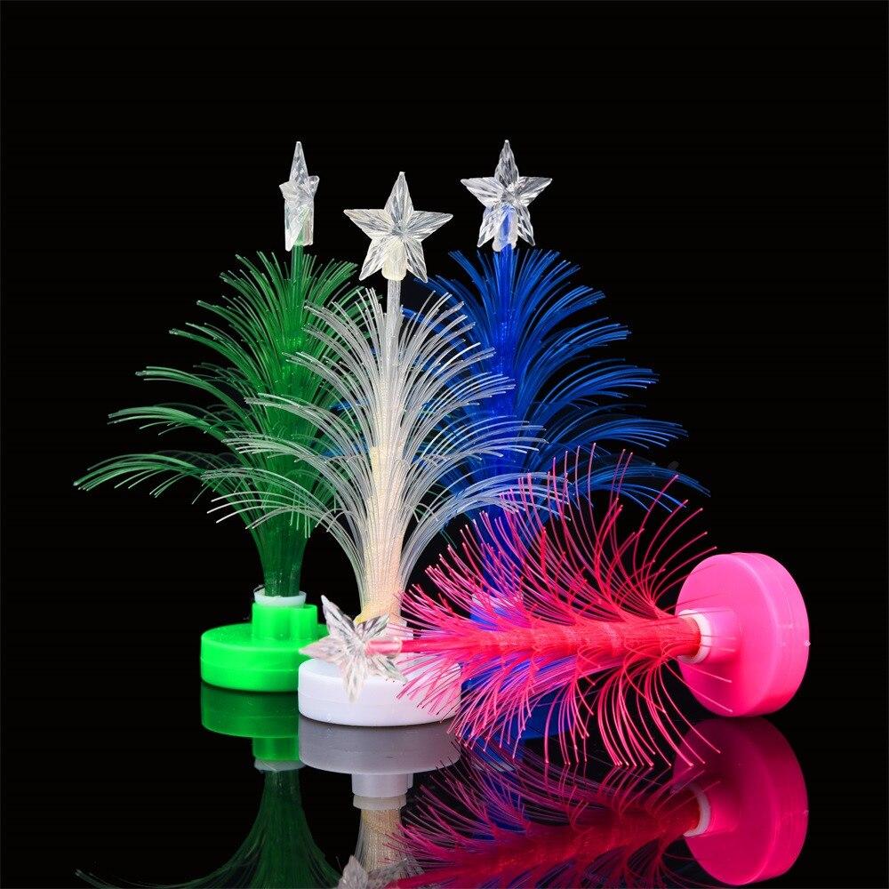 Christmas Tree Merry Christmas: 12cm 2019 Christmas Tree Hot Merry LED Color Changing Mini