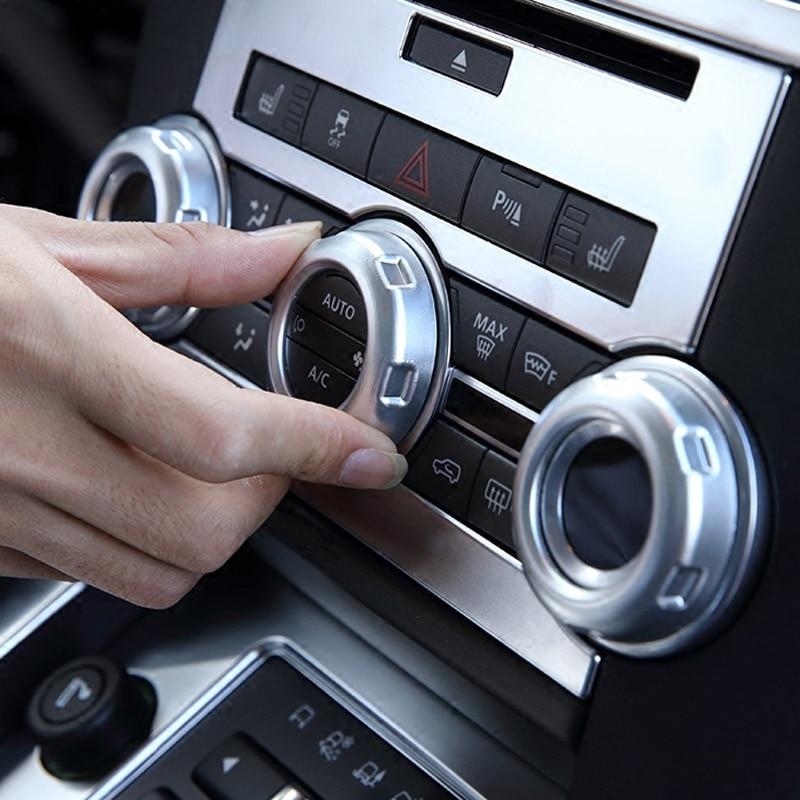 Նոր ժամանումների ծավալը և օդորակիչի կոճակը կարճացրեք ավտոմեքենաների պարագաներ Land Rover LR4 2010-2016 համար Range Rover Sport 2010-2013