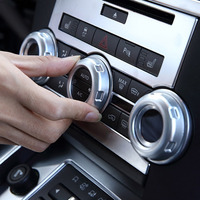 NEW Arrivals Volume And Air Conditoin Button Trim Car Accessories For Land Rover LR4 Range Rover
