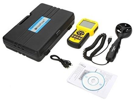 HoldPeak HP-856A Medidor de volumen de aire con velocidad de viento - Instrumentos de medición - foto 4