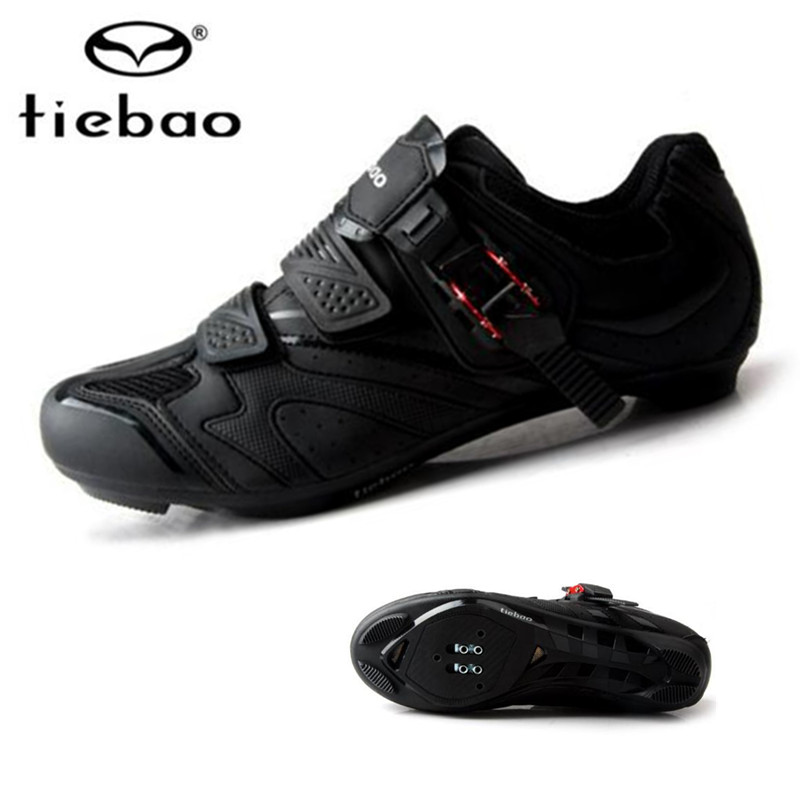 Tiebao Velosiped ayaqqabıları Road Bikes Auto-lock Ayaqqabıları - Velosiped sürün - Fotoqrafiya 1