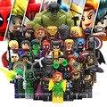 Avenger Super Hero Compatible with LegoINGly Marvel Building Blocks Batman Spiderman Civil War X-Men Hulk Iron Man Toys for Kid