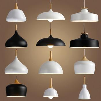 Livewin LED Hanglamp Vintage Loft Kolye Işıkları/Kolye Lambaları Alüminyum Süspansiyon armatür Ahşap Asılı Aydınlatma Mutfak