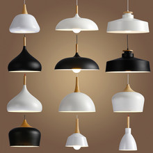 Livewin подвесной светильник Винтаж Лофт открытый подвесные светильники/подвесные светильники алюминиевая подвеска светильник дерево висит освещение кухня