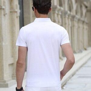 Image 3 - 2020 yaz polo GÖMLEK erkek marka giyim pamuk kısa kollu iş rahat ekose tasarımcı homme camisa nefes artı boyutu