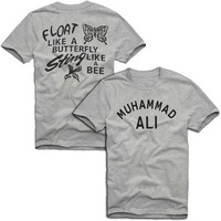 MUHAMMAD-ALI-T-SHIRT-CASSIUS-CLAY-RINGSIDE-VINTAGE-T-SHIRT-Like-A-Butterfly-Mens-Womens-2