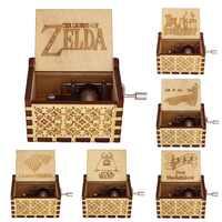Caja De música De Star Wars De madera tallada antiguo Juego De trono Caja De Tronos regalo De navidad regalo De Año nuevo niño regalo de Cumpleaños