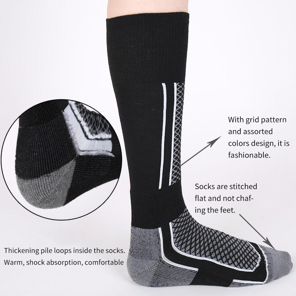 1 Pair Winter Warm Thermal Socks Thick Cotton Sports Snowboard Skiing Socks NGD88