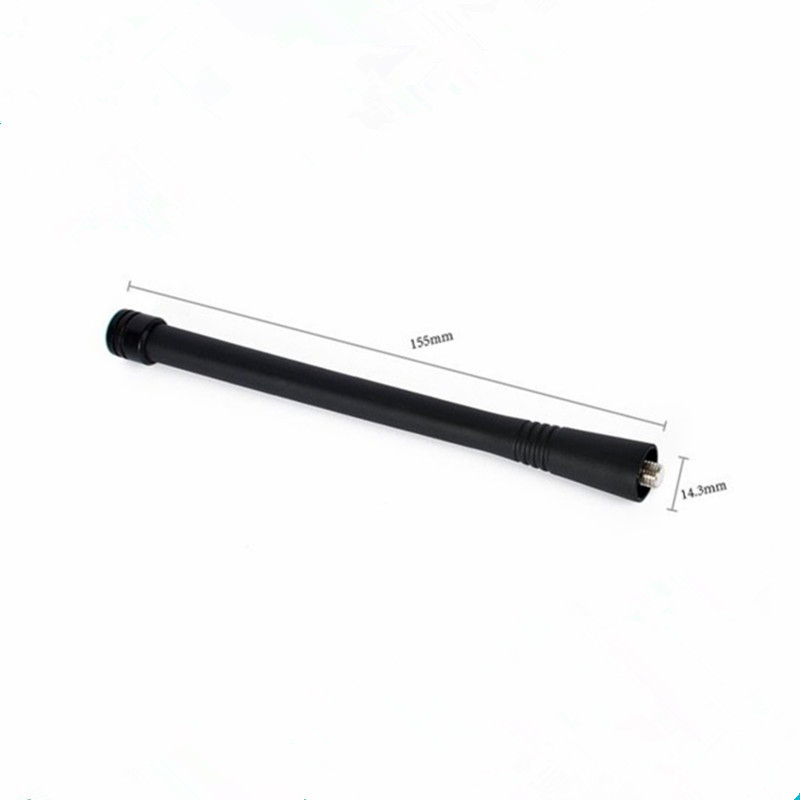 <font><b>10</b></font> x VHF Antenna For Motorola Radio Walkie Talkies GP88 GP88S GP328 GP338 GP338 PLUS 6Inch (15CM) 136-174 <font><b>MHz</b></font> image