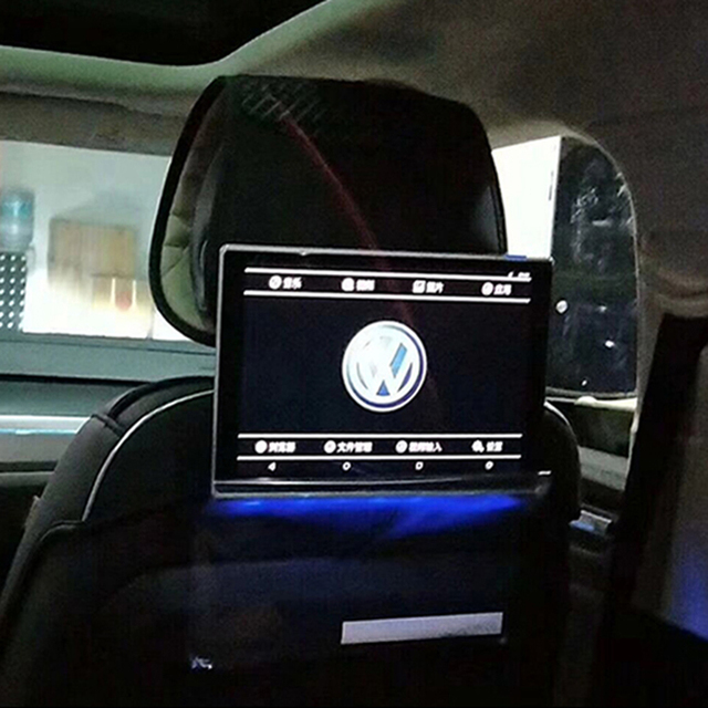 Rear Headrest Dvd Systems Back Seat Tv Screens Car Monitors For Volkswagen Lcd Android Entertainment Multimedia