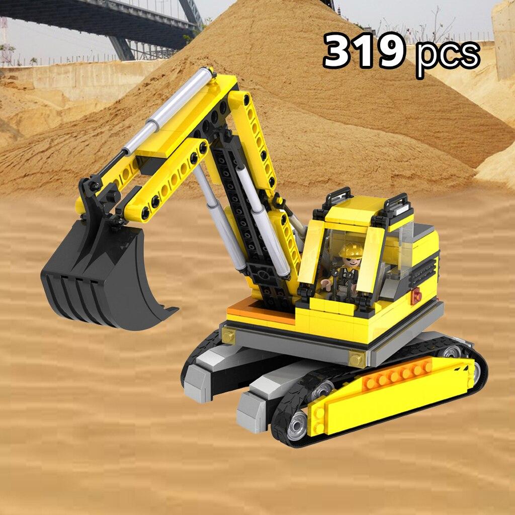 319PCS COGO City Construction Engineering Excavator