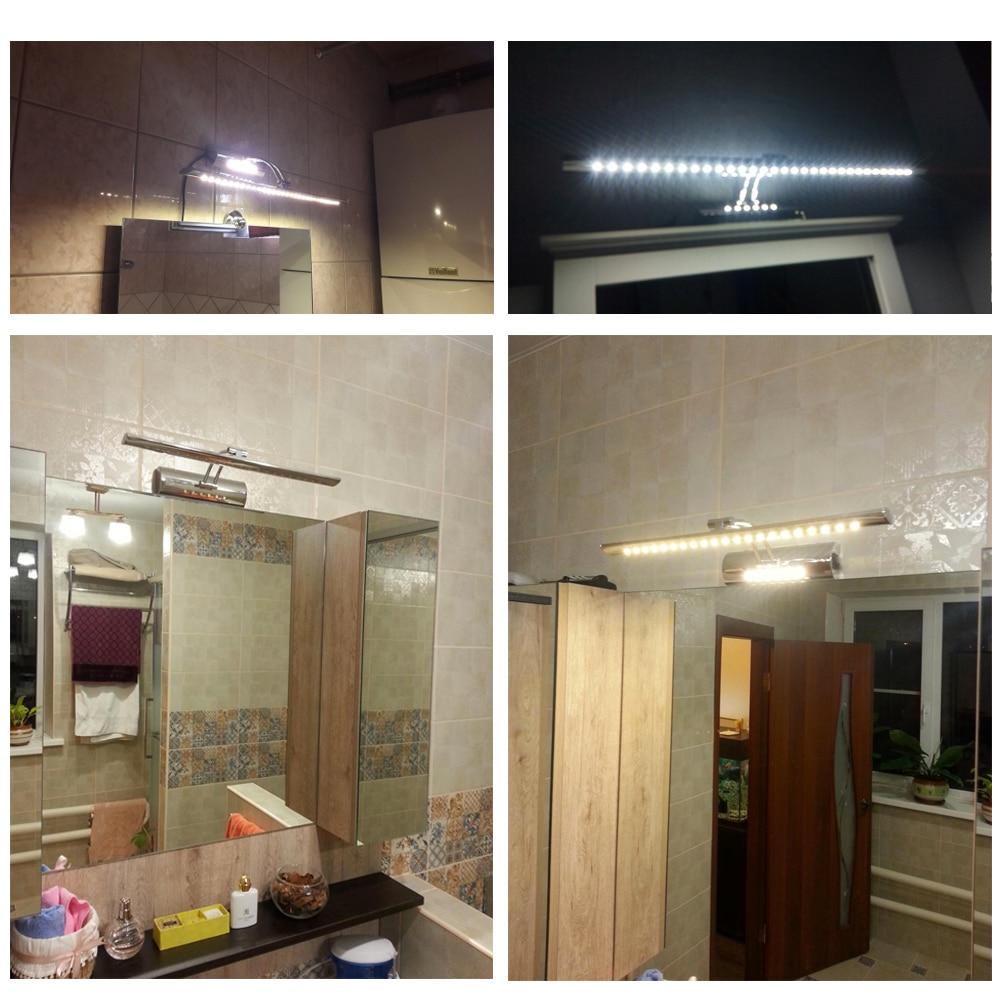 LUCKYLED Lampada Da Parete Bagno Specchio Luce Led 7 W 40 cm 9 W 55 ...