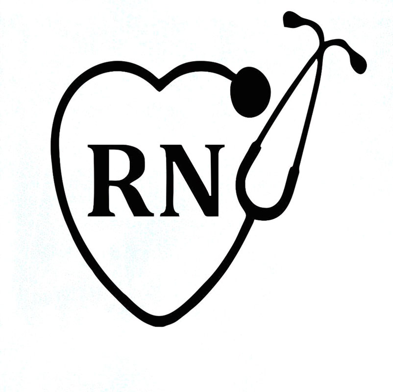 buy rn vinyl decal and get free shipping on aliexpress com
