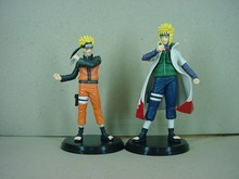 2015 Naruto Action Figure 2Pcs Japanese Anime Figures 16cm Pvc Cartoon Collection figures Hot Toys Kid Gift Free Shipping