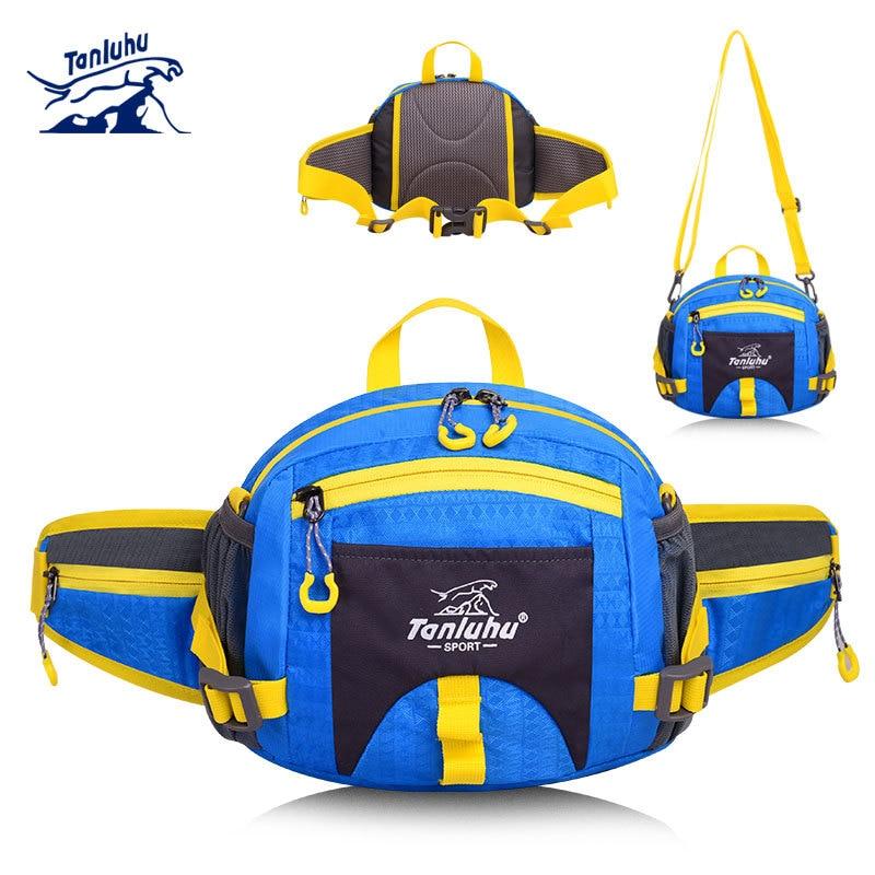 Tanluhu Outdoor Sport Running Waist Belt Bag Waterproof Multi Function Sports Hiking Bag Trail Run Bags Packs Accessories