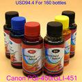 160 bottles * 100ml High quality  Compatible Ink PGI-450/GLI-451 for Canon PIXMA MG6340  Canon PIXMA MG7140
