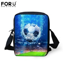 лучшая цена FORUDESIGNS Casual Men&Women Messenger Bag Cool 3D Ball Printing Baby Boys Girls Small Crossbody Bag Travel Shoulder Bag Mochila