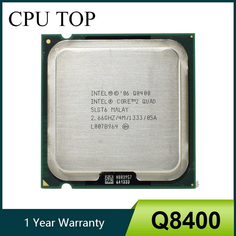 100 Working Core 2 Quad Q8400 Processor 2 66GHz 4MB 1333MHz Socket 775 cpu Innrech Market.com