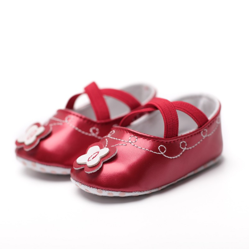 2018 Girls Princess Toddler Shoes First Walkers Lovely Flower Shoes Spring Autumn