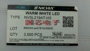 Image 3 - NICHIA מתח גבוה LED 3535 5.25 w לבן חם 2700 K NVSL219AT H3