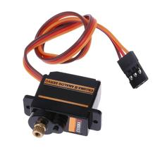 Mini Size Metal Gear Analog Servo ES08MA II Professional Longoing Life RC Motor Replacement Part Efficient Mini Gear Servo