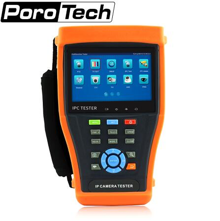IPC4300 tester 4 3 TOUCH SCREEN IP CAMERA TEST MONITOR POE CCTV TESTER WIFI PTZ CVI