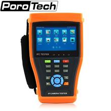 IPC4300 tester 4.3″ TOUCH SCREEN IP CAMERA TEST MONITOR POE CCTV TESTER WIFI PTZ CVI TVI AHD IPC4300ADHS