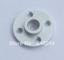 Freeship 10x metal de alumínio 25t servo braço tipo redondo disco metal chifres para ds3218 ds3115 futaba ace robô
