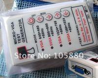 5 12V Portable VGA SVGA XGA Color Test Signal Generator V2 0 60HZ F LCD CRT