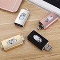 3 em 1 celular USB OTG Flash Drive 8 GB 64 GB Caneta unidade de memória usb stick de armazenamento externo para iphone 7 6 plus, android, tablet PC