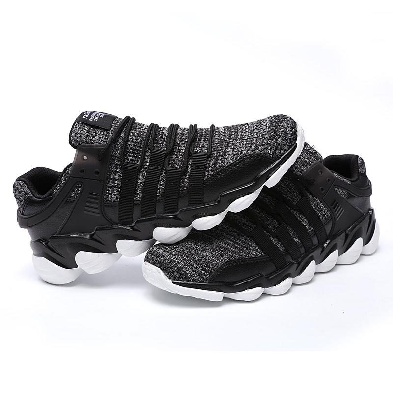 ZENVBNV New Fashion Air Mesh Mäns Casual Shoes Andas Lace Up Lätta - Herrskor - Foto 6