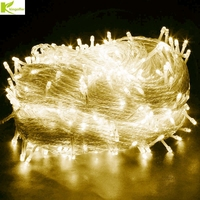 Kingoffer Waterproof Outdoor Garden Garland 100M LED Fairy String Lights 600 Lamps Christmas Party Wedding Holiday Decoration