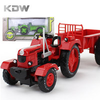 Mr Froger Tractor Mode Alloy Car Models Refined Metal Agricultural Vehicles Farm Truck Decoration Classic Toys