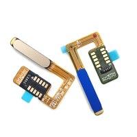 Nova casa botão de retorno montagem impressão digital sensor toque cabo flexível compatível para meizu m6s/meilan s6 peças reposição
