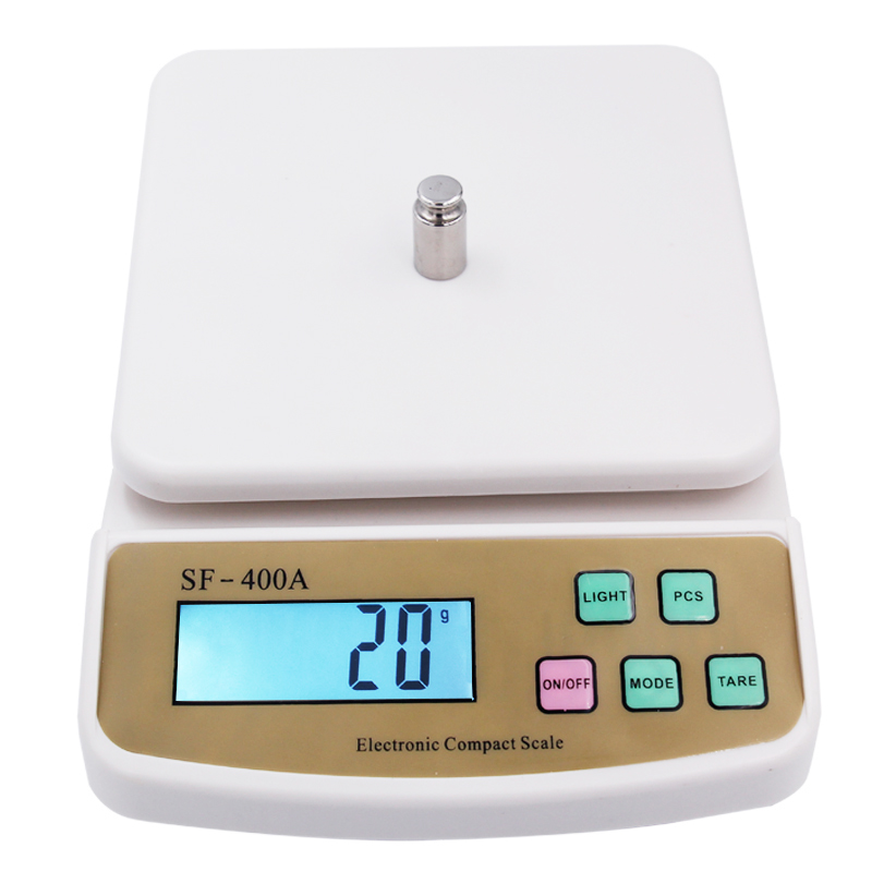 10kg 1g Digital Scale Weight Postal Kitchen Counting