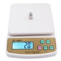 10Kg 1g waga Cyfrowa waga liczenie Pocztowy Kuchnia skalę Ważenia elektroniczny wyświetlacz LCD z podświetleniem