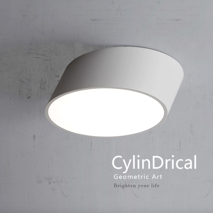 modern led ceiling light dimmable surface mount for