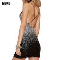 new sleeveless sexy sequin dress evening party ropa mujer plus size glitter short woman backless dress vestidos de playa summer