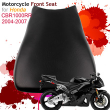 For Honda CBR1000RR 2004-2007 Front Seat Cover Cushion Leather Pillow CBR 1000RR 2005 2006 Motorcycle Rider Driver Seat