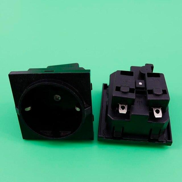 YuXi 1Pieces/lot E 08 Germany European AC Power Socket 16A 250V ...