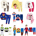2016 Batman Pijamas Kids Pajamas Cotton Baby Boy Pyjamas Set Superman Pyjama Bebe Long Sleeve Pijama Infantil Kids Boy Clothes