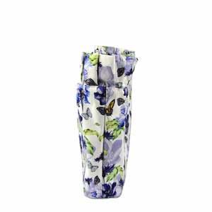 TANQU Neue Verbund Twill Tuch Wasserdichte Krause Falten Innere Futter Einfügen Zipper Tasche für Klassische Mini Obag Tasche für O tasche