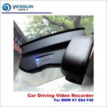 Yessun Mobil DVR Kamera Mengemudi Perekam Video Dashcam untuk BMW X1 E84 F48 Dash Kamera Auto Kaca Kamera Dash Cam malam Visi