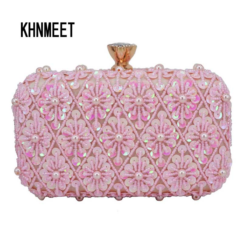 Golden Beaded Evening Bags Women Party Purse Female Wedding Clutch Bags Chain Shoulder Bags Chain Messenger Bag Day Clutch 1954Golden Beaded Evening Bags Women Party Purse Female Wedding Clutch Bags Chain Shoulder Bags Chain Messenger Bag Day Clutch 1954