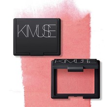KIMUSE Mineral Blush Baking Powder Baked Face Makeup Single Color Natural Cheek Rouge Bronzer Blusher