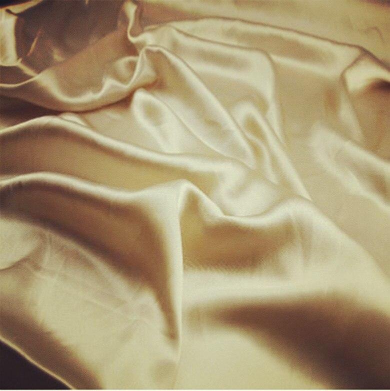 16 mm 108 cm élastique soie Satin tissu naturel soie couleur 42 pouces largeur 68 gsm 10 mètres petit en gros