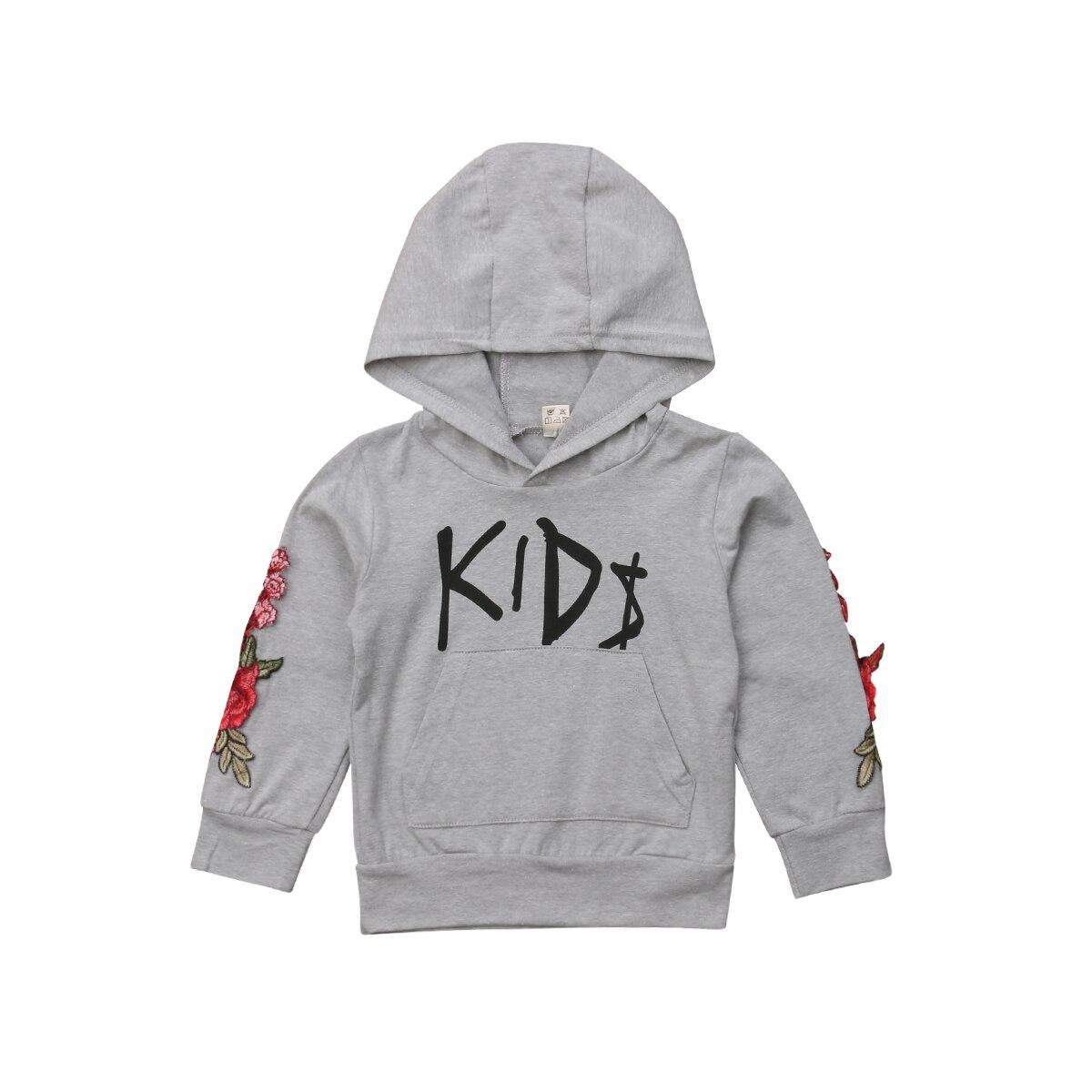 2018 Mode Kinder Jungen Mit Kapuze Sweatshirt Sport Hoodies Casual Kleinkind Kleidung Herbst 1-5 T Neue Verkaufsrabatt 50-70%